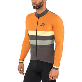 Alé Cycling Classic Vintage LS Jersey Herr orange